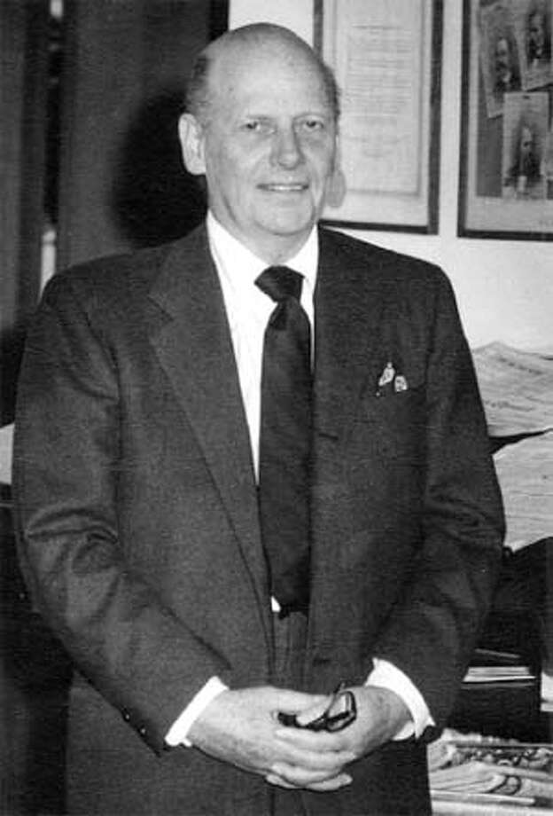 Chronicle People: Charles de Young Thieriot, Publisher, 1955-1977. Chronicle File Photo
