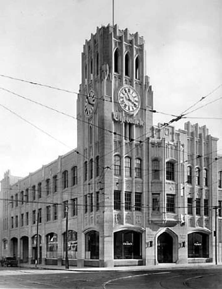 Chronicle building, 1924 (to present). Chronicle File Photo