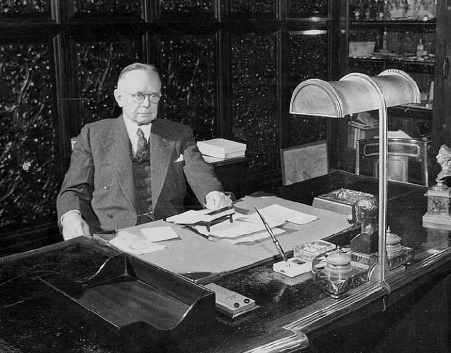 Chronicle People: George Cameron, Publisher, 1925-1955. Chronicle File Photo