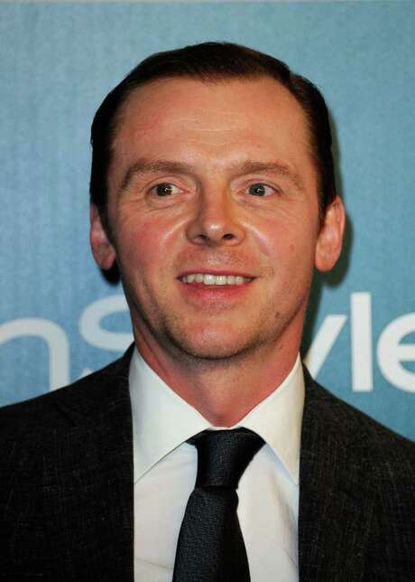 BEVERLY HILLS, CA - JANUARY 15:  Actor Simon Pegg arrives at 13th Annual Warner Bros. And InStyle Golden Globe Awards After Party at The Beverly Hilton hotel on January 15, 2012 in Beverly Hills, California.  (Photo by Kevork Djansezian/Getty Images) Photo: Kevork Djansezian, Staff / 2012 Getty Images