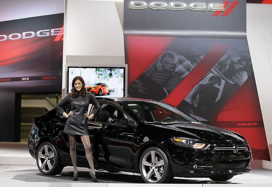 Dodge introduces the Dodge Dart during the media preview of the Chicago Auto Show at McCormick Place in Chicago on Wednesday, Feb. 8, 2012. (AP photo/Nam Y. Huh) Photo: Nam Y. Huh, Associated Press