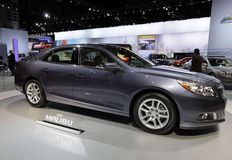 2013 Chevrolet Malibu LTZ Photo: Nam Y. Huh, Associated Press