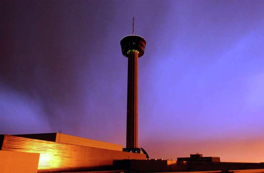 Tower of the Americas,which was the theme structure of HemisFair '68, San Antonio's World's Fair. Built at a cost of $5.5 million, the tower features a 622-foot-high observation tower and revolving restaurant. Also: Tejano Conjunto Festival, Texas A&M University-San Antonio, Texas Folklife Festival, Torch of Friendship and Trinity University. Photo: EDWARD A. ORNELAS, SAN ANTONIO EXPRESS-NEWS / SAN ANTONIO EXPRESS-NEWS