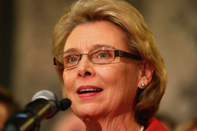 Governor Chris Gregoire speaks before signing a bill legalizing gay marriage in Washington State on Monday February 13, 2012 at the Legislative Building of the Washington State Capitol in Olympia. Photo: JOSHUA TRUJILLO / SEATTLEPI.COM