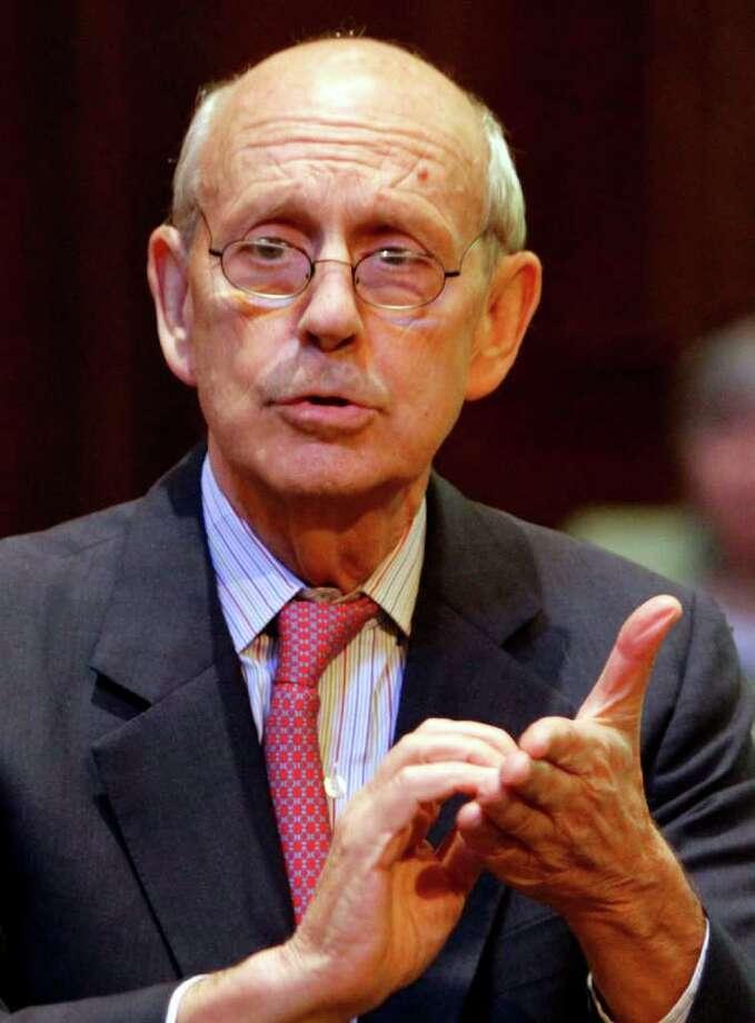 An intruder robbed Supreme Court Justice Stephen Breyer last week in the West Indies. Photo: Steve Helber / AP