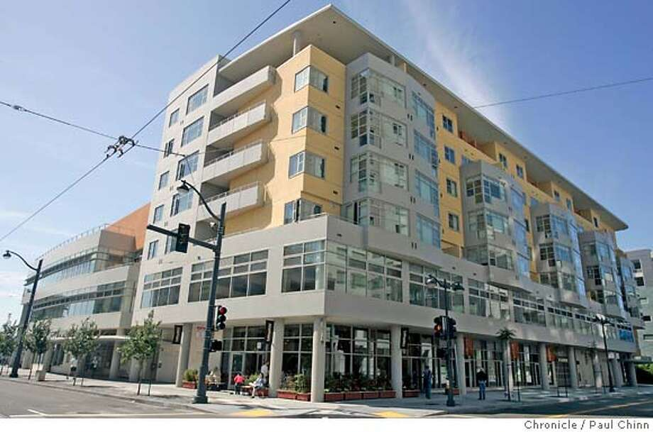 A new apartment complex for seniors at Berry and Fourth Streets in San Francisco, Calif. on Saturday, June 9, 2007.  PAUL CHINN/The Chronicle Photo: PAUL CHINN
