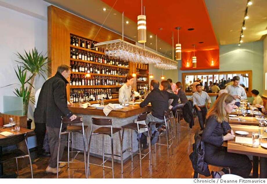 � d.03NUA_007_df.jpg Nua is a new restaurant and wine bar that recently opened in North Beach. Photographed in San Francisco on 5/11/07. Deanne Fitzmaurice / The Chronicle Mandatory credit for photographer and San Francisco Chronicle. No Sales/Magazines out. Photo: Deanne Fitzmaurice
