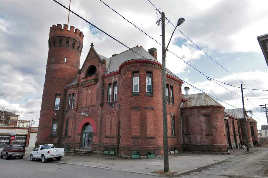 The owner of the Cohoes armory has filed for bankruptcy and the mayor of the city says he hopes a new buyer can be found to rejuvenate the aging structure, seen here on Monday Feb. 13, 2012 in Cohoes, NY.   (Philip Kamrass / Times Union ) Photo: Philip Kamrass / 00016424A