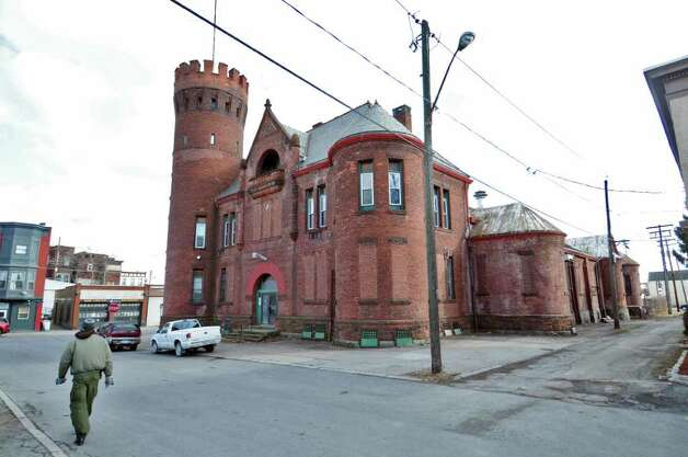The Cohoes armory    (Philip Kamrass / Times Union ) Photo: Philip Kamrass / 00016424A