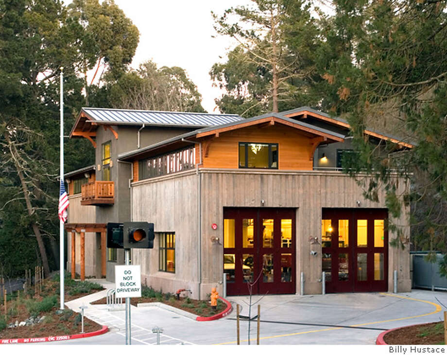 Berkeley Hills Fire Station, Berkeley, CA  Designed by Marcy Li Wong & Donn Logan Architects.  photograph by Billy Hustace Photo: Billy Hustace