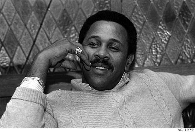 FILE -- Pittsburgh Pirates' Willie Stargell relaxes during an interview in Boston, in this Nov. 30, 1979 photo. Hall of Famer Willie Stargell, who led the Pirates to two World Series victories with his tape-measure homers, died of a stroke Monday April 9, 2001 at New Hanover Regional Medical Center in Wilmington, N.C.. He was 61. (AP Photo/File)