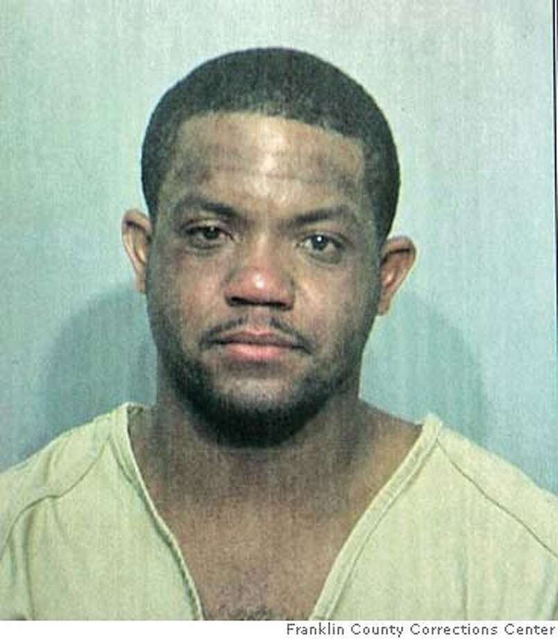 In this photo taken and released Wednesday, Aug. 9, 2006 by Franklin County Corrections Cente in Columbus, Ohio, a booking mug shot of Maurice Clarett is shown. Clarett was arrested early Wednesday after a highway chase that ended with police using Mace on the former Ohio State running back and finding four loaded guns in his sport utility vehicle, a police spokesman said. (AP Photo/Franklin County Corrections Center) PHOTO PROVIDED BY FRANKLIN COUNTY CORRECTIONS CENTER Photo: Ap