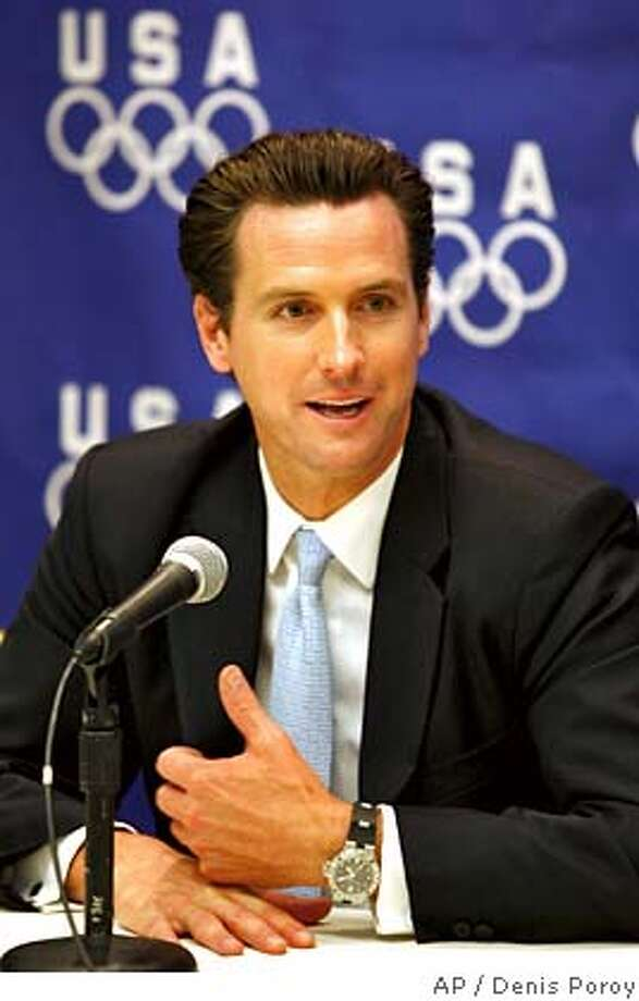 Gavin Newsom Photo: DENIS POROY