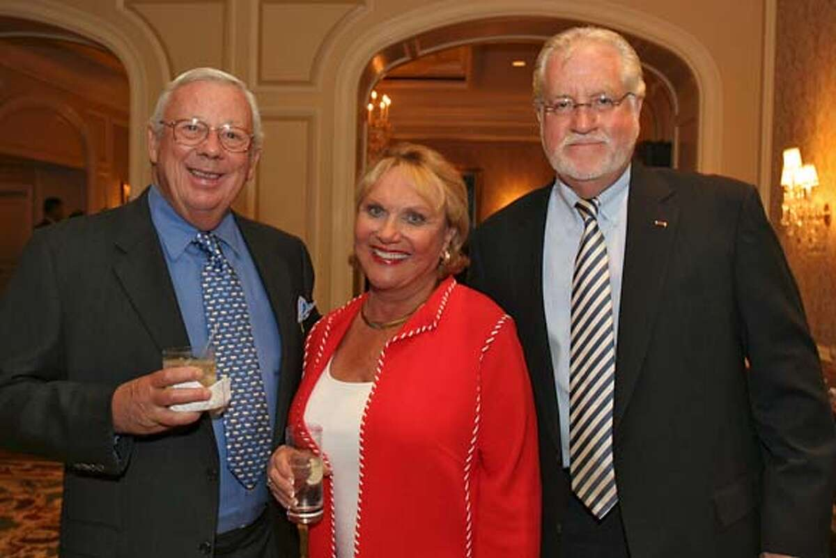 Catholic Charities CYO raised 1.3 mil at its annual Loaves & Fishes gala. From left: Robert and Maria Gallo, Joe Cotchett. Photo credit: SFC