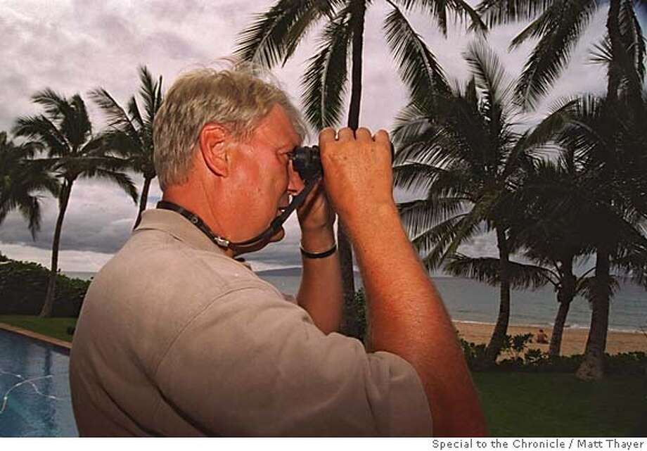 NELSON1/C/02DEC96/SP/FREELANCE: Former Warriors coach Don Nelson relaxing with his family in Hawaii. Photo by Matt Thayer/Special to the Chronicle. Photo: L;kjl;k
