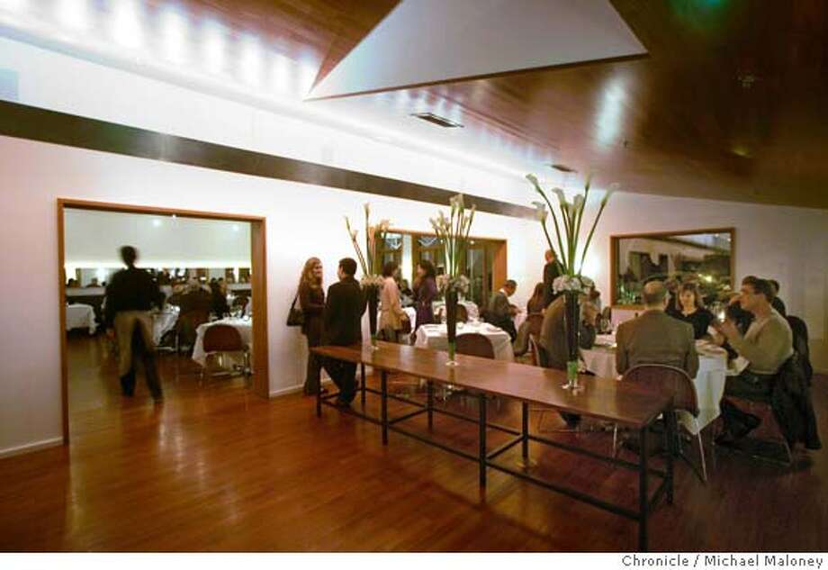 Restaurant review : Redd in Yountville.  Richard Reddington, one of the top bay area chefs who worked for several years at Auberge du Soleil has opened this sleek, contemporary restaurant to showcase his take on American food. Event in Yountville, CA  Photo by Michael Maloney / The Chronicle Photo: Michael Maloney