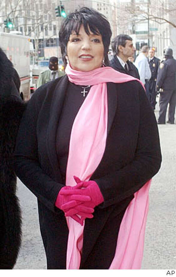 Liza Minnelli first listed the Beverly Hills home in 2000. Associated Press file photo, 2004, Mary Altaffer