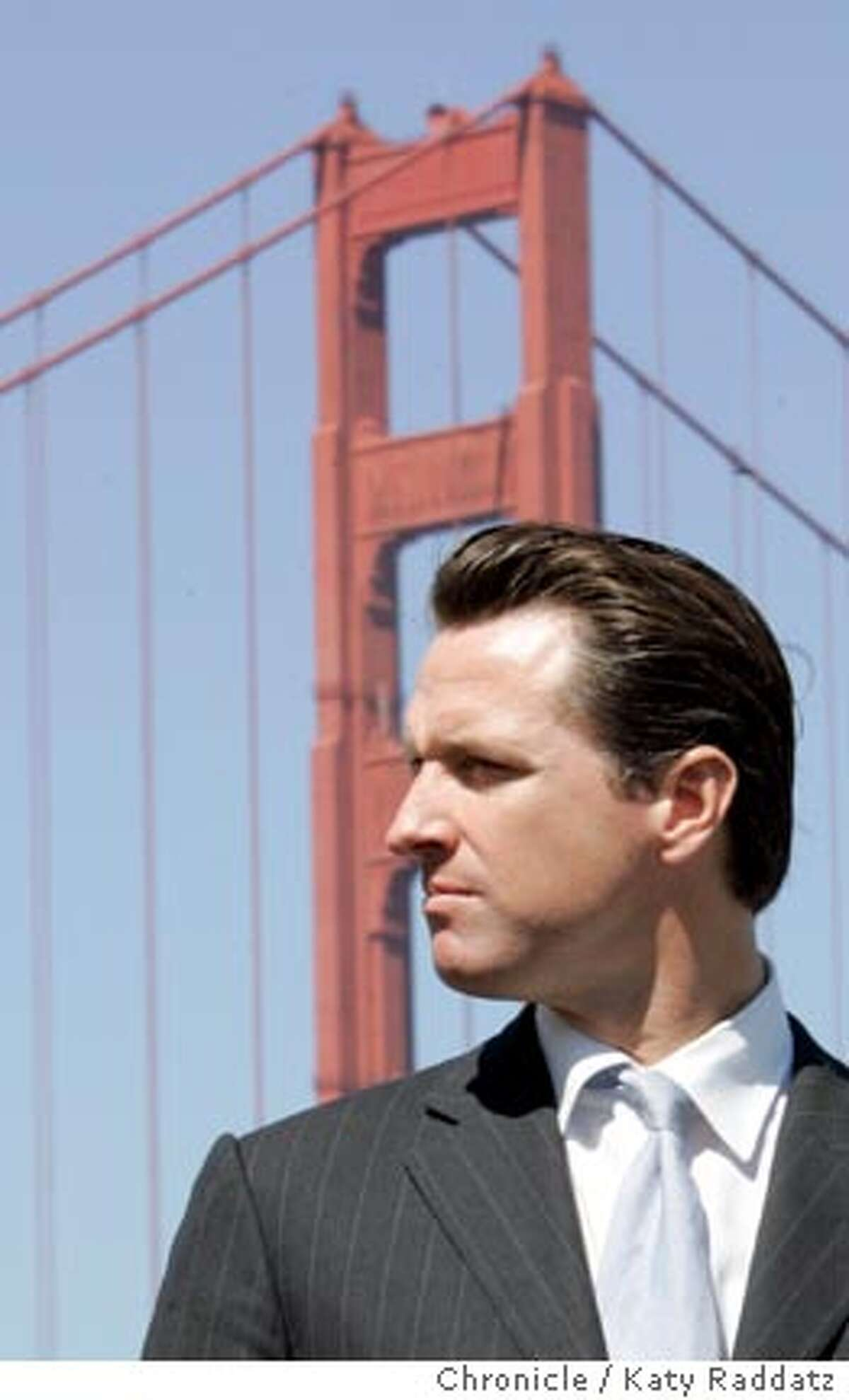 TIDALWAVE_044_RAD.jpg SHOWN: Mayor Gavin Newsom, joined by Susan Leal , General Manager of the SFPUC, and Jared Blumenfeld, Director of the Dept. of Environment in SF, announce a plan to harness tidal energy by sinking giant turbines under the Golden Gate Bridge that would produce alternative energy for the city. These pictures made on Monday, Sept. 19, 2006, in San Francisco, CA. (Katy Raddatz/The S.F.Chronicle) **Gavin Newsom, Jared Blumenfeld, Susan Leal