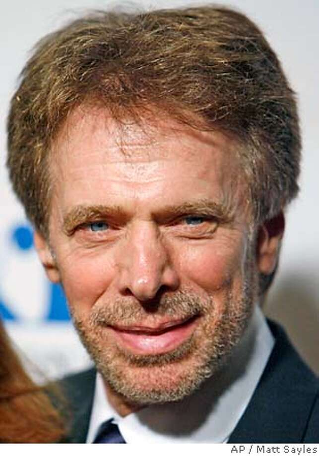 Producer Jerry Bruckheimer arrives at the Museum of Television and Radio's annual gala in Beverly Hills, Calif., on Monday, Oct. 30, 2006. Bruckheimer was honored at the event. (AP Photo/Matt Sayles) Photo: MATT SAYLES