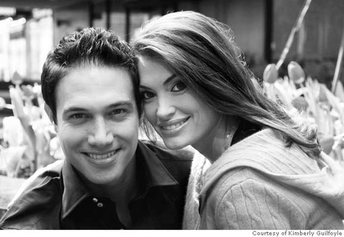 Kimberly Guilfoyle and her fiancee, Eric Villency Photo courtesy of Kimberly Guilfoyle SFC