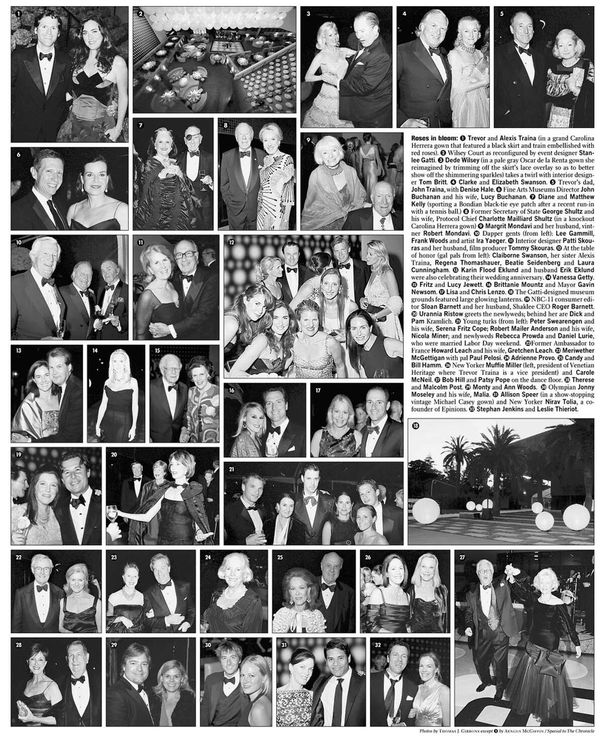 Roses in bloom. Photos by Thomas J. Gibbons, special to the Chronicle except number 2 by Aengus McGiffin, special to the Chronicle
