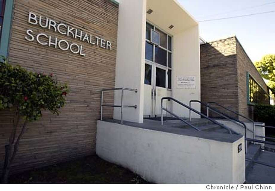 Costs of renovating Burckhalter Elementary School have escalated following a new labor agreement with labor unions. Burckhalter Elementary School on 4/22/04 in Oakland. PAUL CHINN/The Chronicle Photo: PAUL CHINN