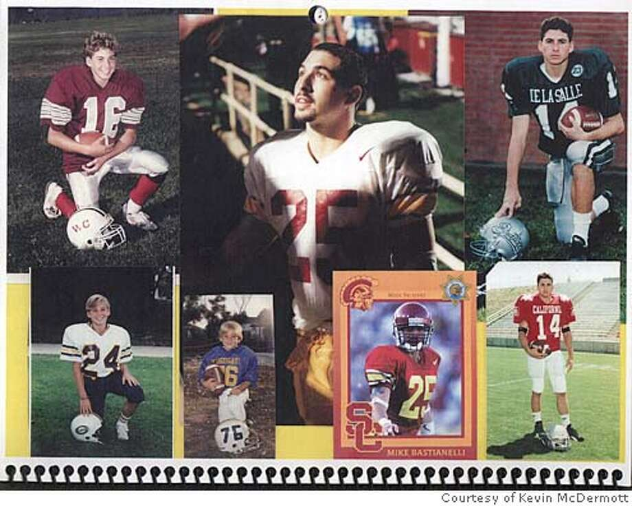 Collage of Mike Bastianelli photos. Credit: Courtesy Kevin McDermott Photo: Courtesy Kevin McDermott