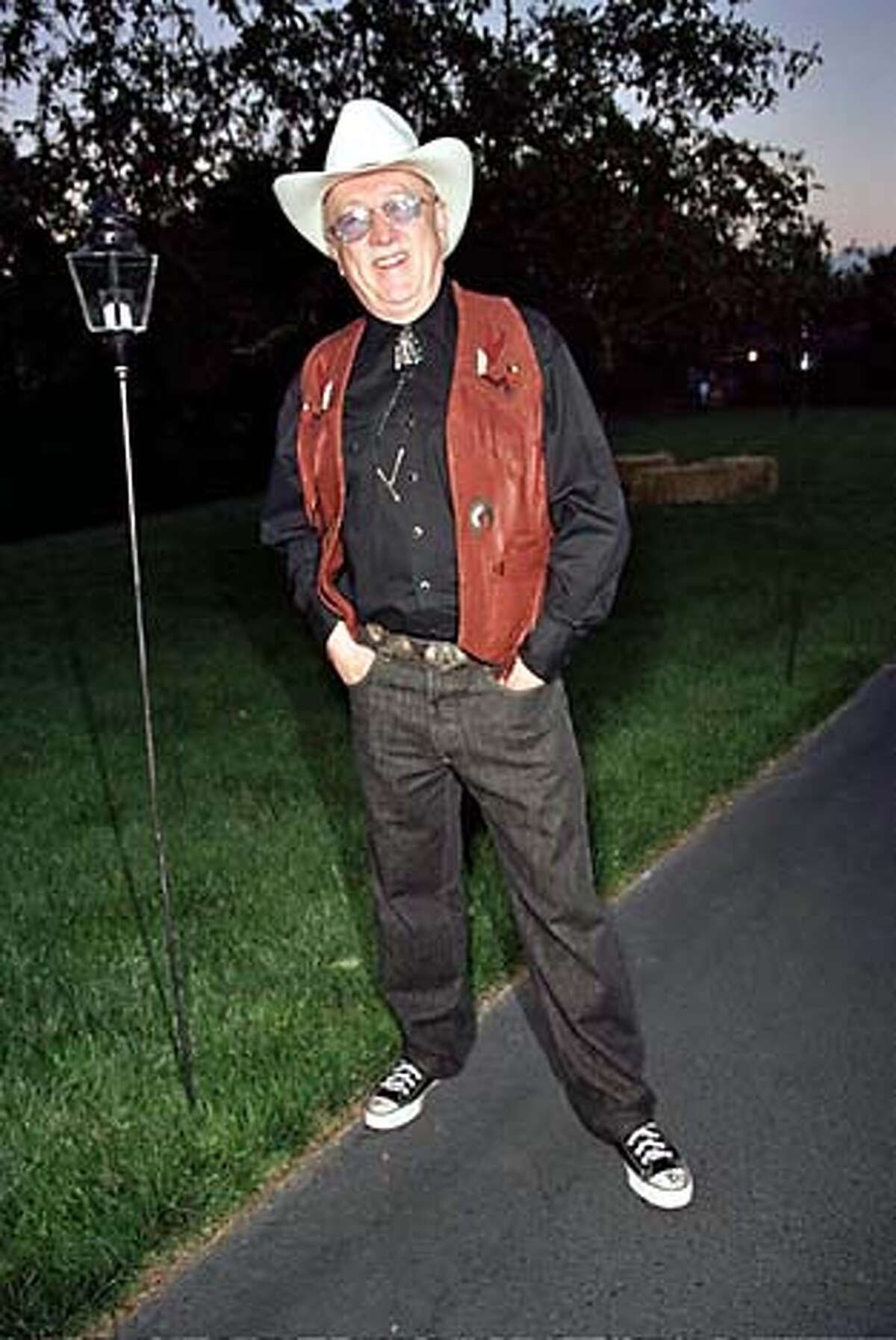 Wilkes Bashford at the Sansby Cowboy party,