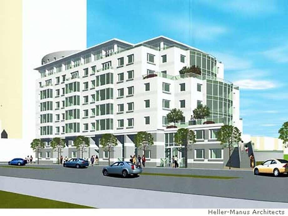 Golden Gate Center #8 Washington Street S.F. By Heller-Manus Architects.
