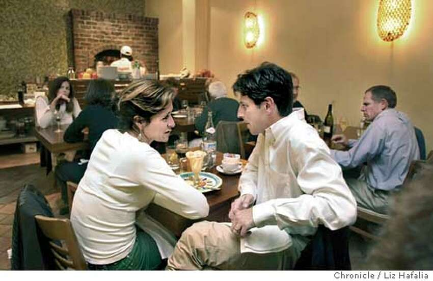Photos for dining out in magazine for Cucina. Shot on 12/11/03 in San Anselmo. LIZ HAFALIA / The Chronicle