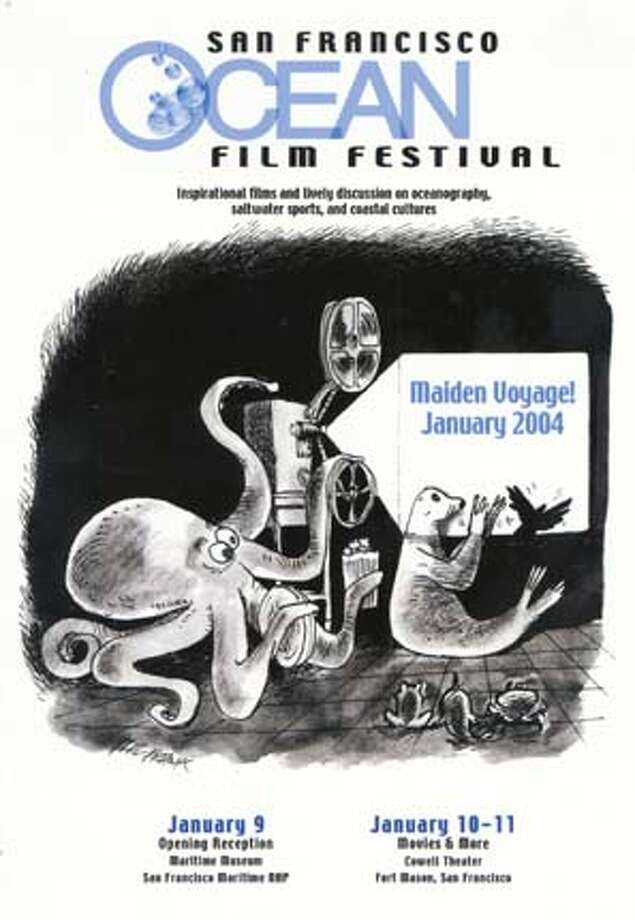 OPENING NIGHT RECEPTION ON JAN 9 BENEFITS THE FIRST SAN FRANCISCO OCEAN FILM FESTIVAL