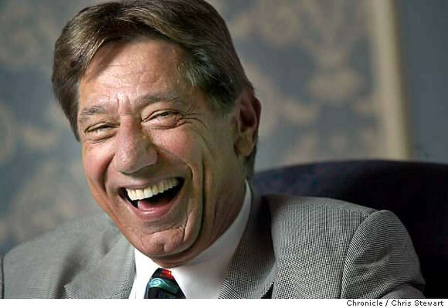 ostler0041_cs.jpg Event on 12/3/03 in San Francisco. Joe Namath, arthritis sufferer. Photographed at the St. Francis Hotel, SF. Chris Stewart / The Chronicle MANDATORY CREDIT FOR PHOTOG AND SF CHRONICLE/ -MAGS OUT Photo: Chris Stewart