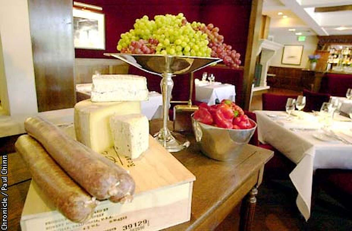 Fresh fruit, bread and cheese will be available daily when the historic Village Pub in Woodside reopens after a one-year building renovation project. PAUL CHINN/S.F. CHRONICLE