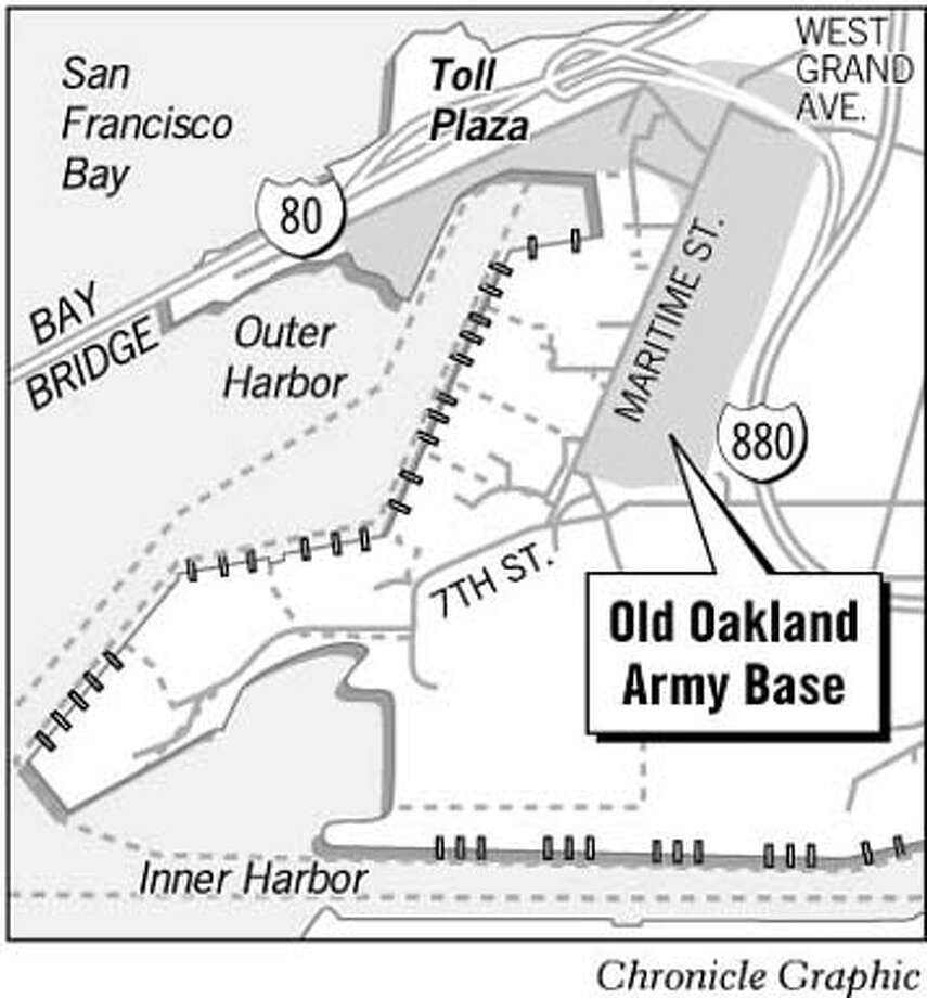 Old Oakland Army Base. Chronicle Graphic