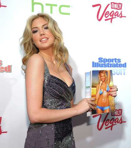 NEW YORK, NY - FEBRUARY 15:  Model Kate Upton attends the SI Swimsuit Launch Party hosted By Pranna at Pranna Restaurant on February 15, 2011 in New York City.  (Photo by Michael Loccisano/Getty Images for Sports Illustrated) Photo: Getty Images / 2010 Getty Images