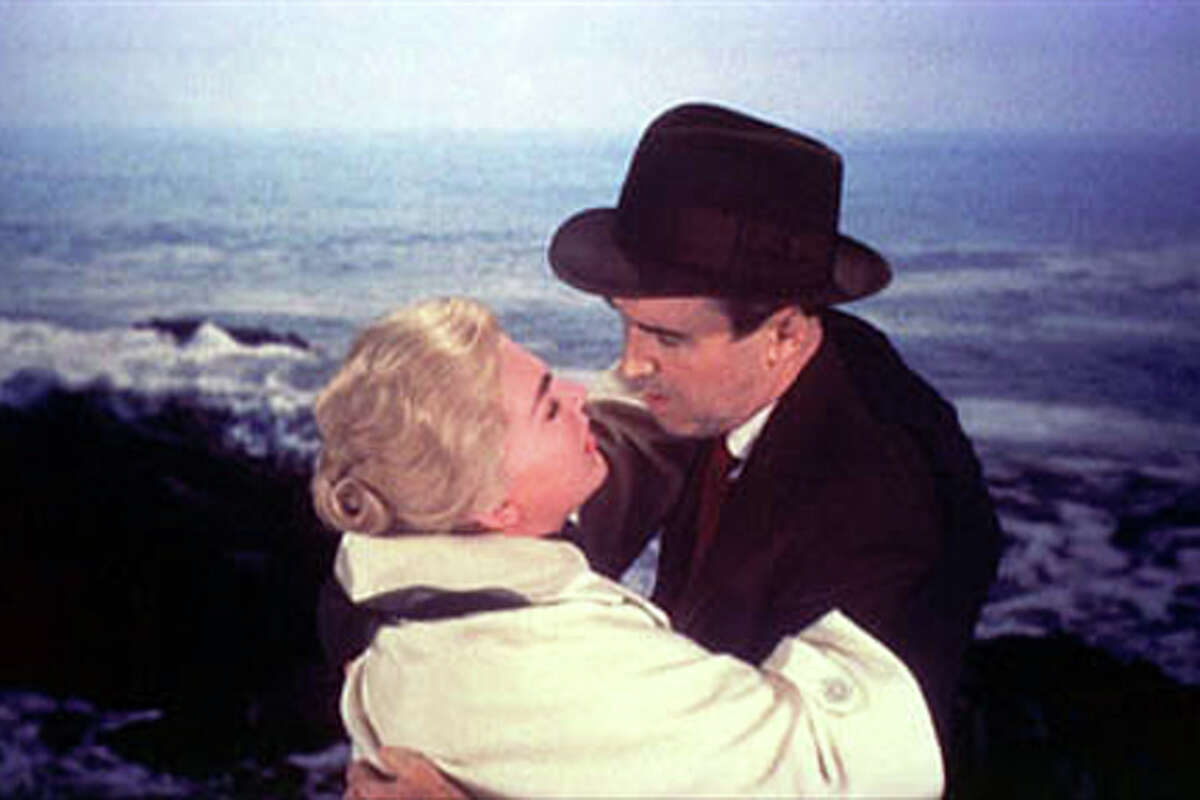 A scene from Vertigo.