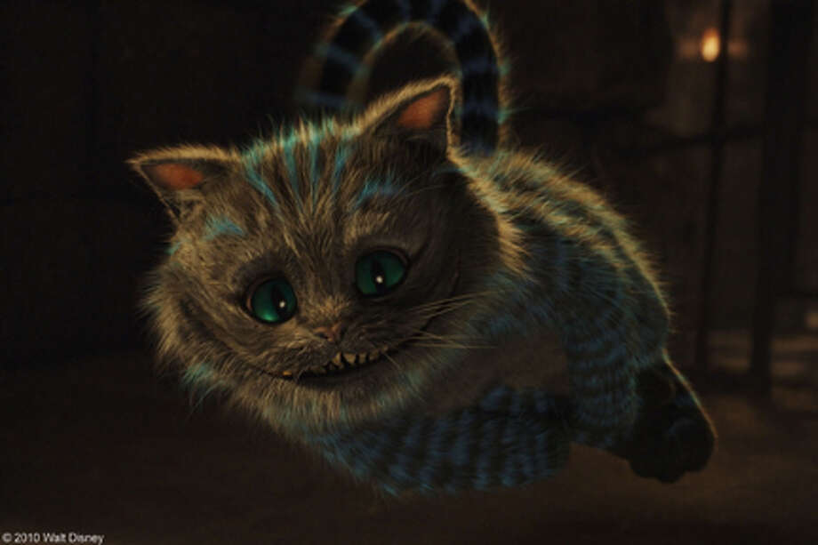 "The Cheshire Cat in ""Alice in Wonderland."""