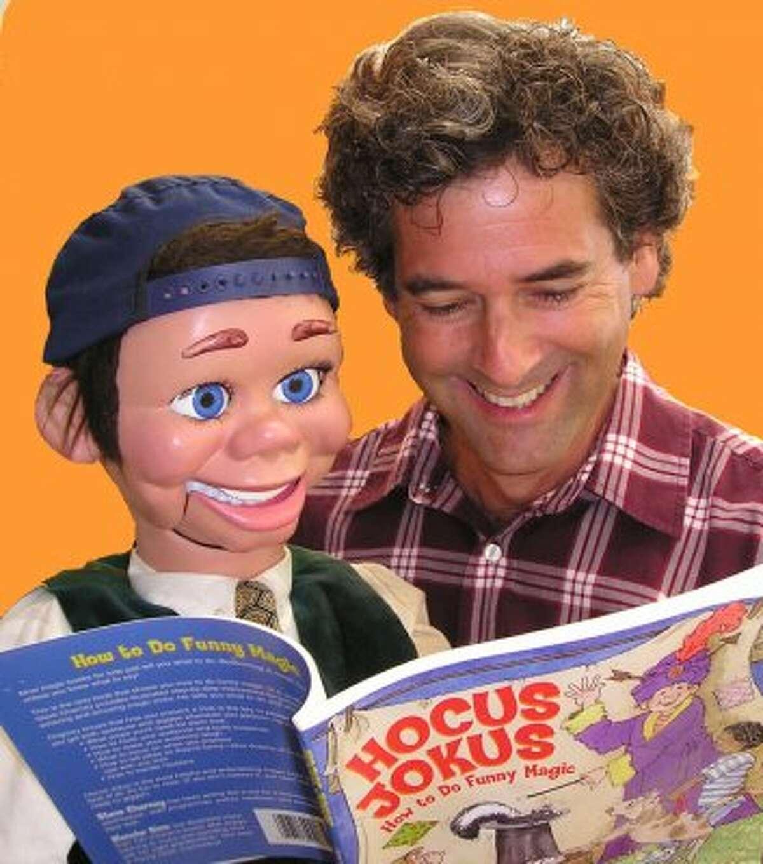 Ventriloquist Steve Charney