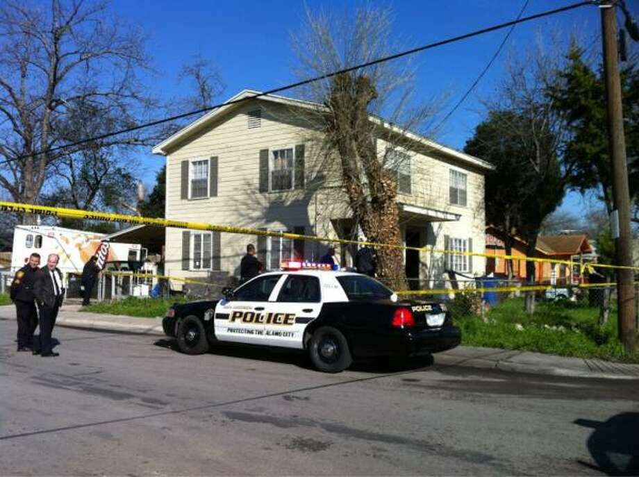 Police secure the West Side home where Elma Sartuche, who had health 