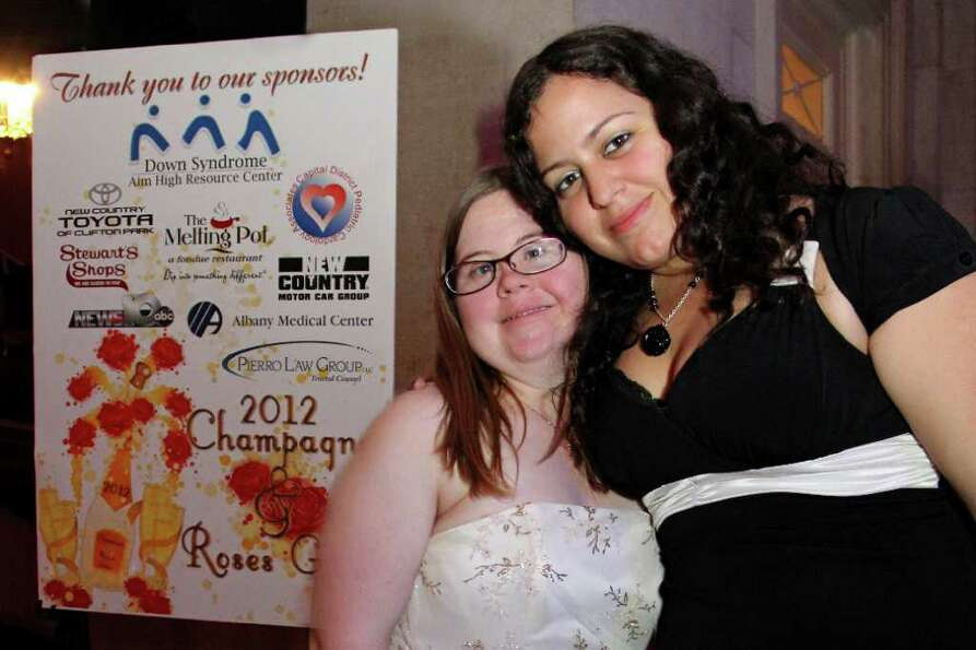 Were you Seen at the Down Syndrome Aim High Resource Center's Champagne & Roses Gala at the Hall of