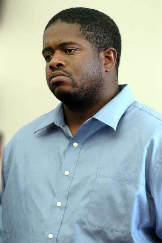 Stanley Joseph, 30, of Bridgeport, pleaded guilty Tuesday to attacking his former girlfriend and fatally stabbing her new boyfriend in her Stratford home in June 2010.  Joseph pleaded guilty to first-degree manslaughter and first-degree assault as his case was about to go to trial. He entered the plea before Superior Court Judge Robert Devlin Jr. Photo: Autumn Driscoll, ST / Connecticut Post