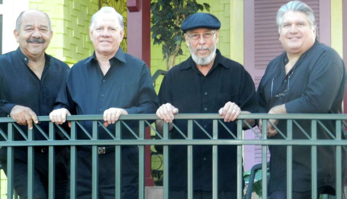 The long-lived Latin pop/rock/Tejano act the Tobia Brothers, from left Roland, Hector, Henry and Toby Tobias.