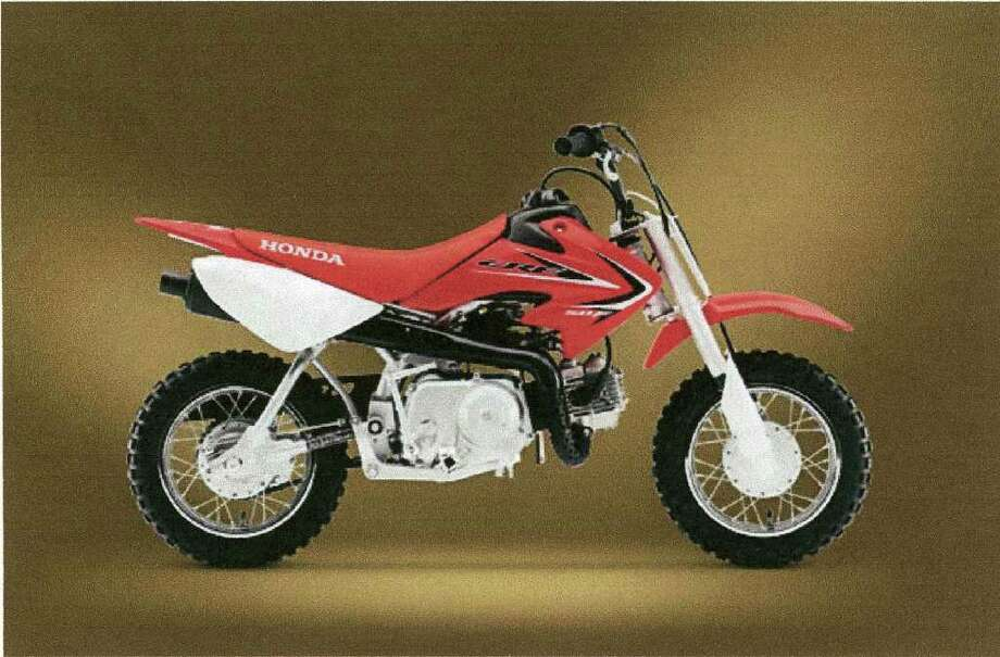 A motorcycle like this one was stolen from Albany Honda 390 New Karner Road, Colonie over the weekend. (COLONIE POLICE DEPARTMENT)