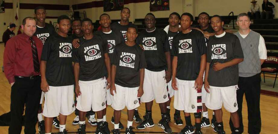 Introducing the 2012 District 18-3A basketball champions the Jasper Bulldogs. Photo: Jason Dunn