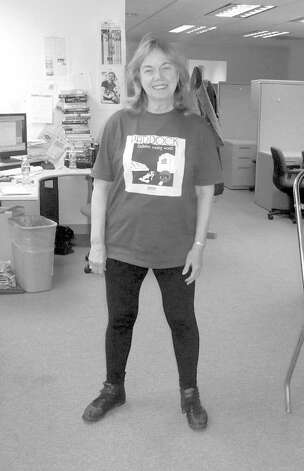 "Greenwich Citizen reporter Anne W. Semmes before ""boot camp."" Photo: Contributed Photo"