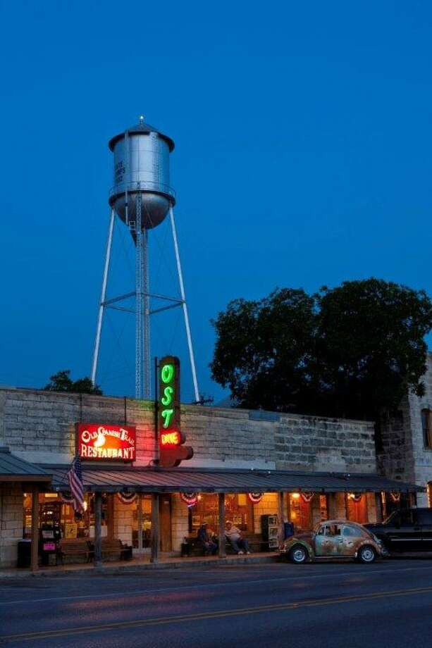 Located in Bandera, the O.S.T. is an iconic Texas diner that's been serving folks for well over 75 years. (J. Griff Smith, TXDOT) Photo: Texas Hill Country