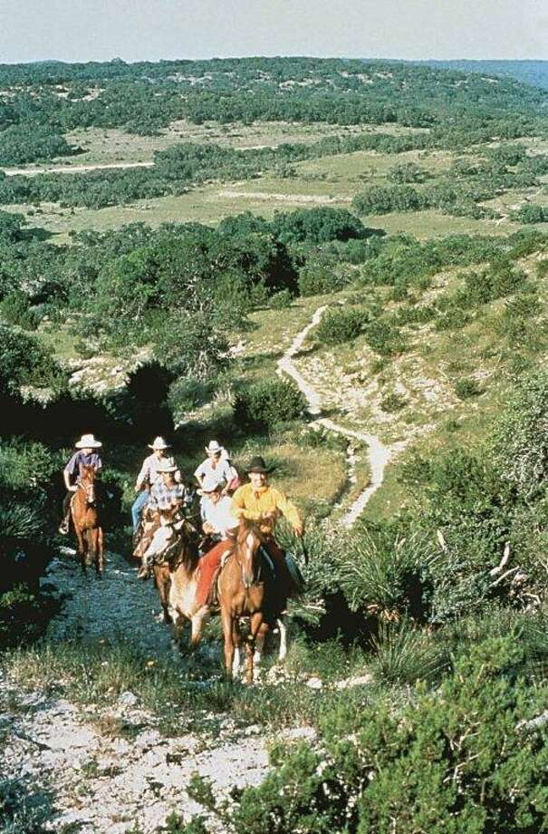 Cowboys ride on  the Trail in the Hills of Bandera (J. Griff Smith, TXDOT) Photo: Texas Hill Country
