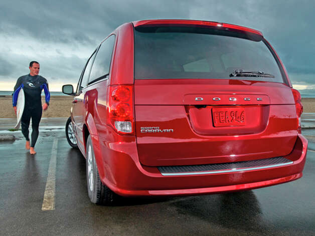 2012 Dodge Grand Caravan Crew (photo courtesy Chrysler) Photo: Barry Hathaway