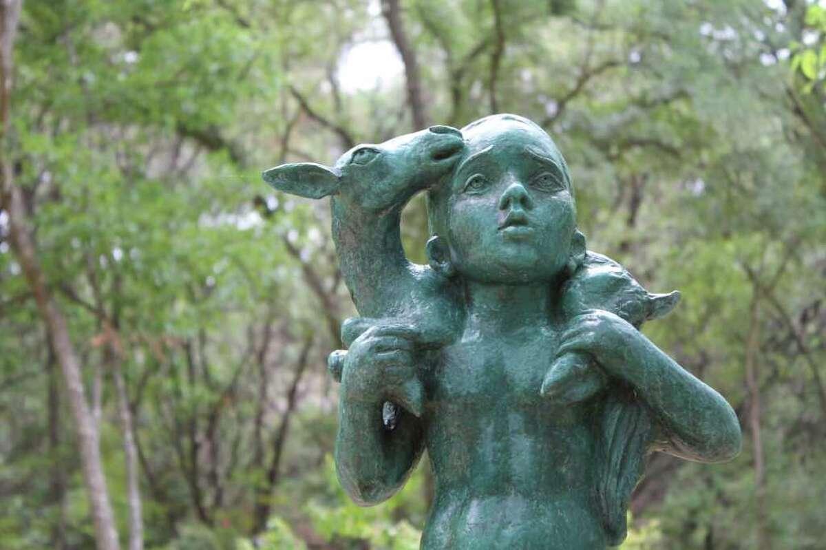 The Umlauf Sculpture Garden in Austin is a wonderful place to visit.