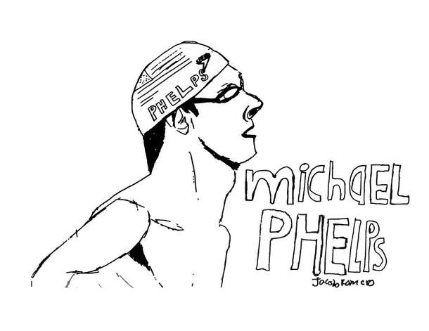 Michael Phelps I like the great Michael Phelps because he won nine gold medals in the 2010 Olympics. He inspired me to swim and now I swim on many weekdays. Michael Phelps is a true hero. -Jacobo Romero, 12 years old. Photo: Contributed Photo